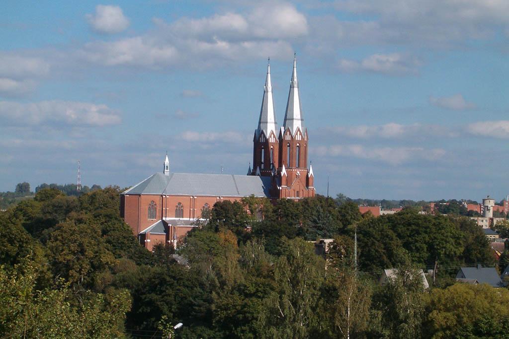 Church of St Matthew the Apostle Anykščiai Lithuania