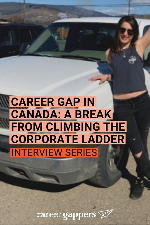 Jayde Tarbuck left her job in corporate customer service to live and work in Canada on a career gap. In this interview she tells her story. #careergap #careerbreak #canada #gapyear #sabbatical