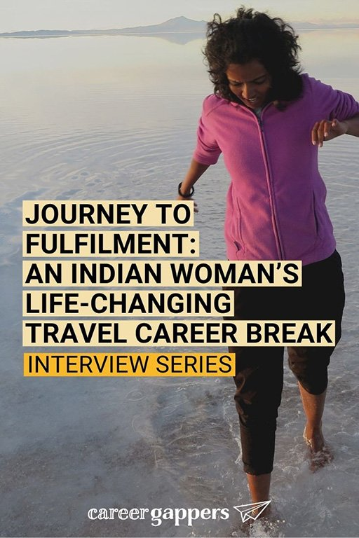 Manisha Singh left her 'big four' firm job in India to travel for a year. In this interview, she tells how the journey transformed her life. #careerbreak #sabbatical #travelcareerbreak #timeout #careerchange