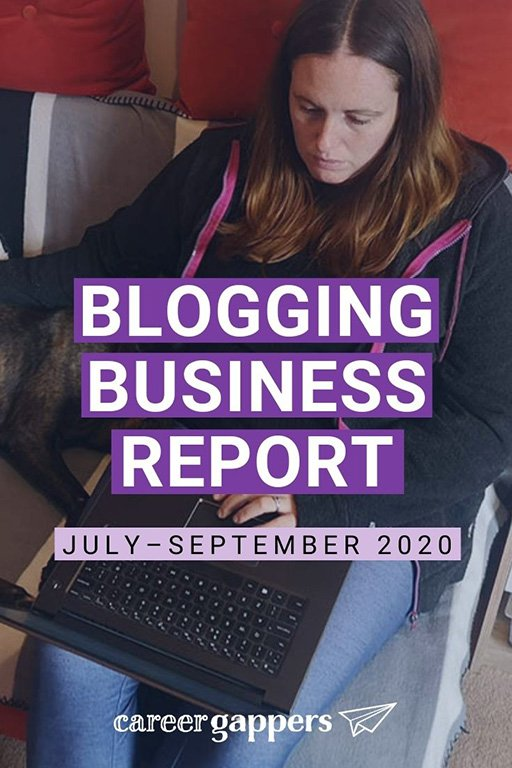Our blogging business report for the third quarter of 2020 looks at how we've been rebuilding our traffic and preparing for a changed future. #businessreport #incomereport #blogging #travelblog #bloggingbusiness