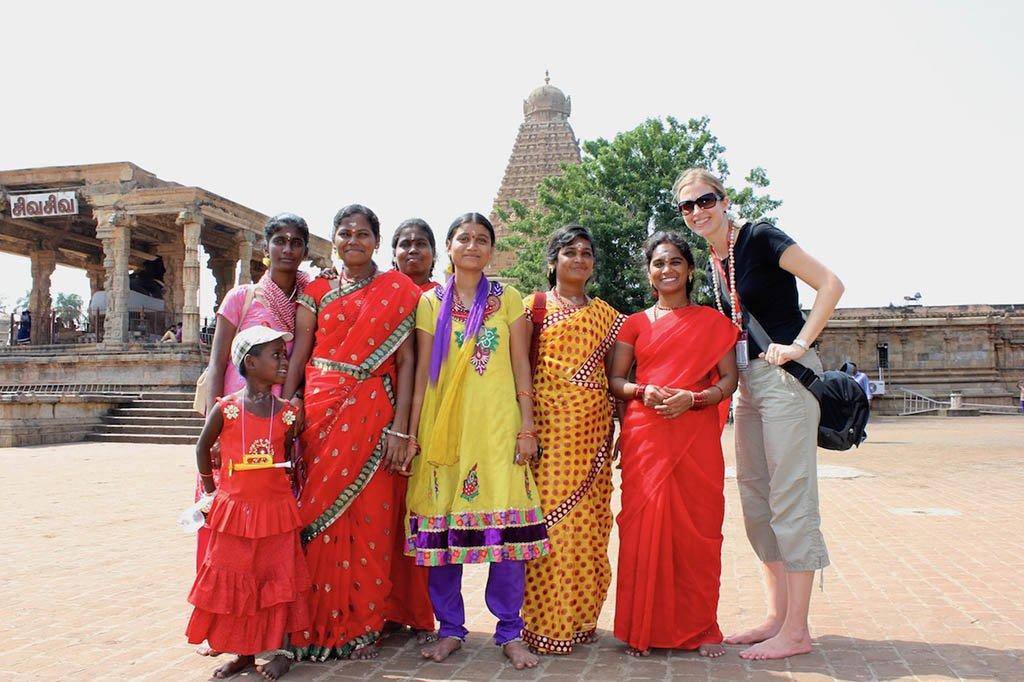 Visiting Brihadeeswara Temple in Thanjavur, India