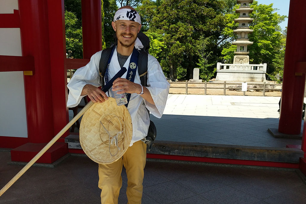 Dj on a pilgrimage in Japan
