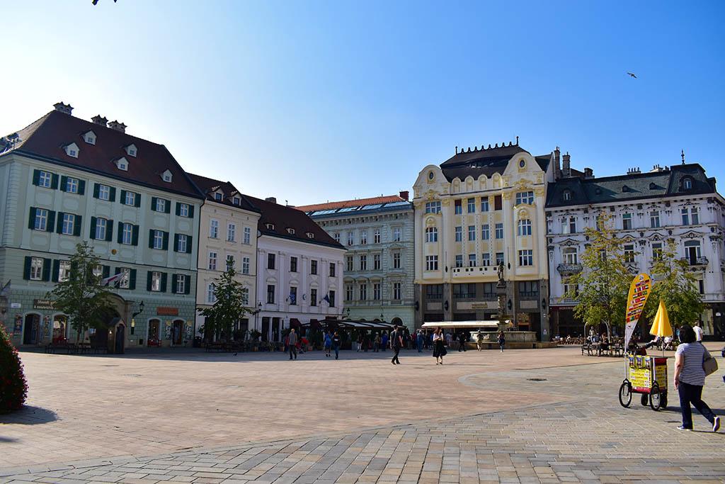 Old Town Square Bratislava Slovakia