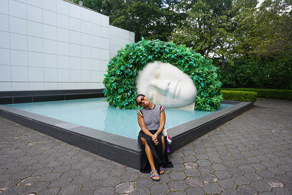 At the Hakone Open-Air Museum, the first museum of its kind in Japan