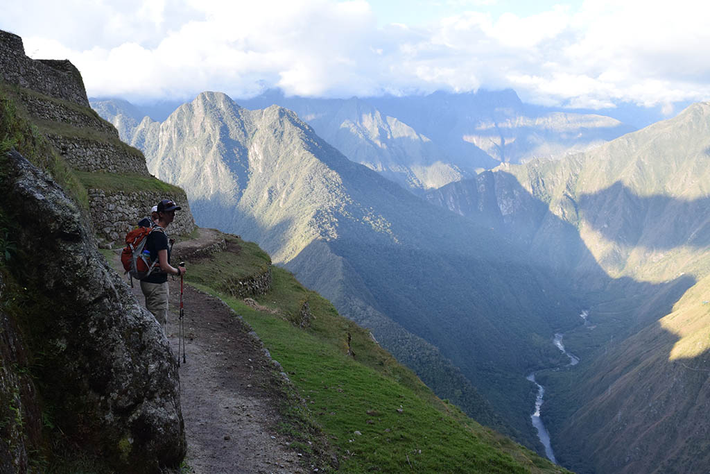 Hiking at altitude