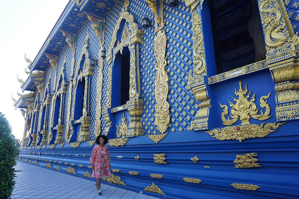 Wat Rong Suea Ten Blue Temple