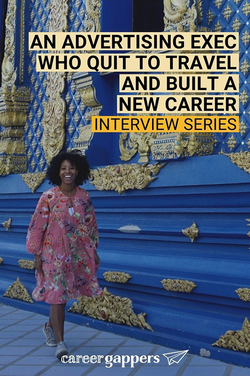 Kemi Adewumi spent a decade working in corporate advertising. After quitting her job to travel, she was inspired to start a new career path.