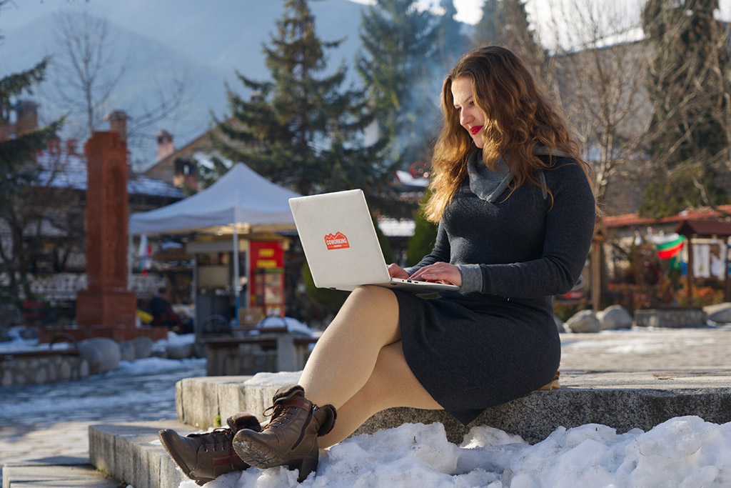 Remote work insurance mountains