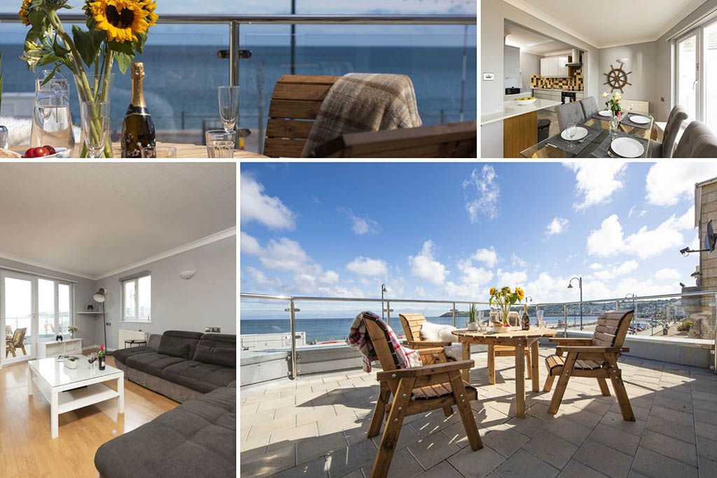 Atlantic Whispers luxury Cornwall cottages sea view