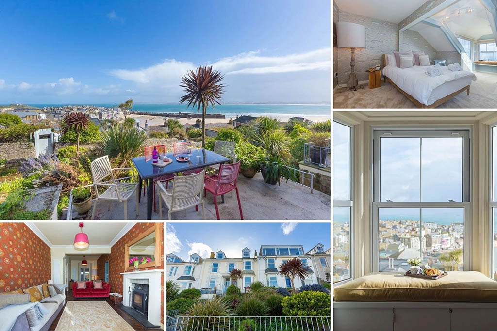 Luxury Cornwall cottages High Noon