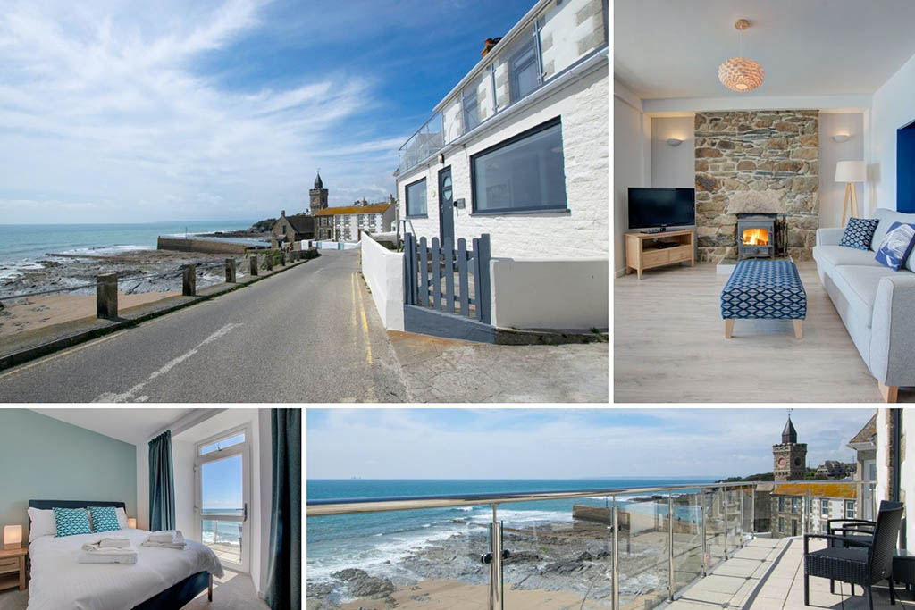 Luxury Cornwall cottages Harbour Dreaming