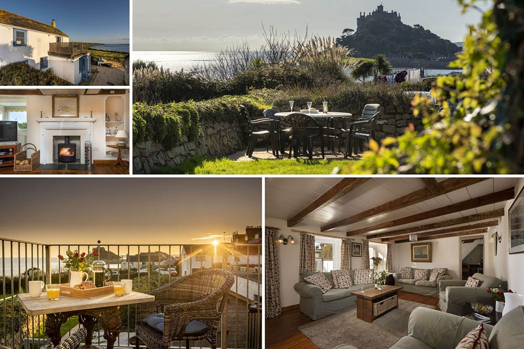 Luxury Cornwall cottages sea view Mount