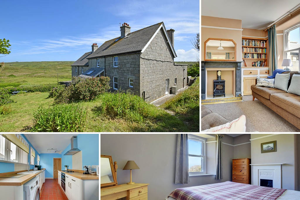 Remote cottages in Cornwall Bedtime Story