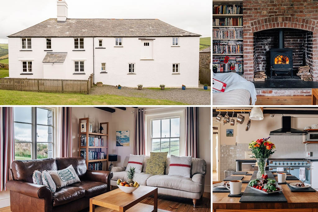 Remote cottages in Cornwall Clotted Cream