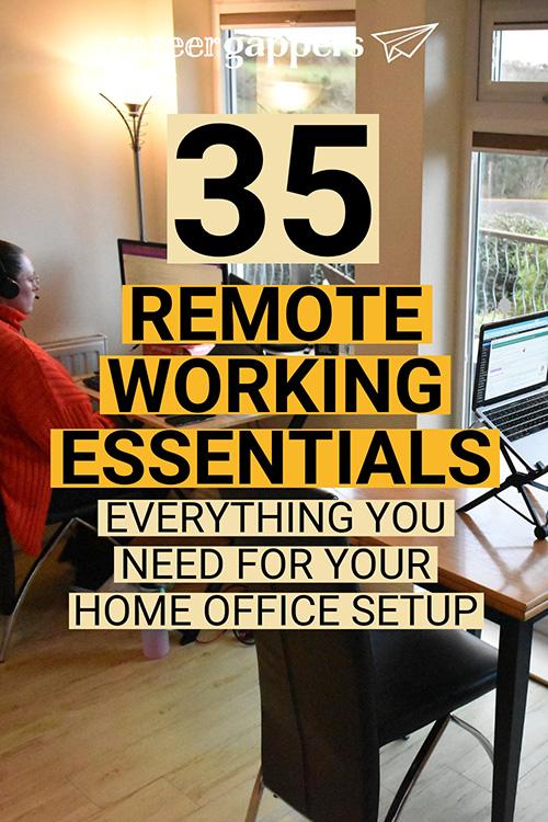 Remote working essentials