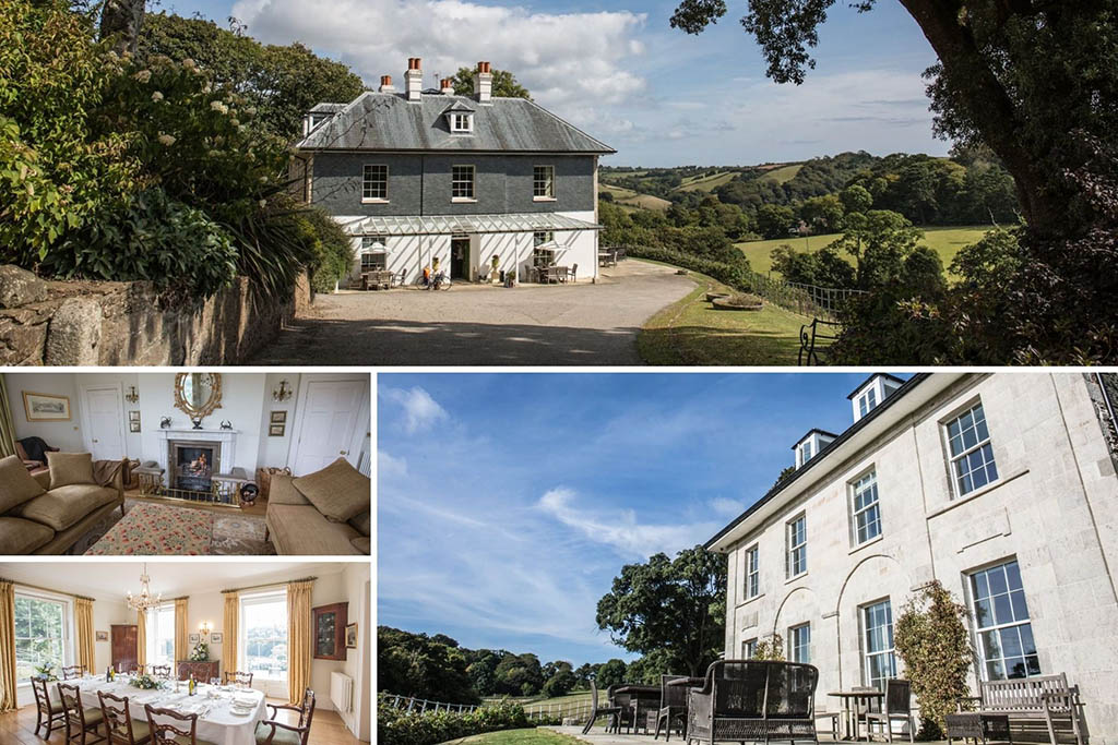 Remote cottages in Cornwall Woodland Estate
