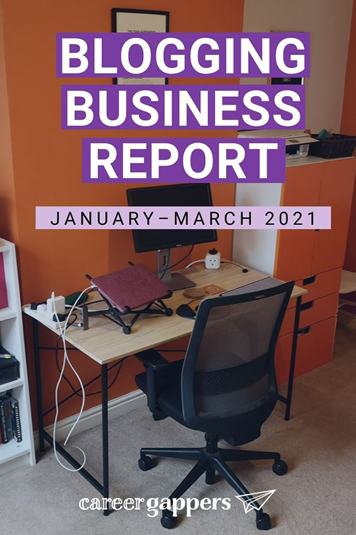 In our first blogging business report of 2021, we reflect on a positive start to the year as our website traffic and income recovers. #blogging #bloggers #incomereport #startupbusiness