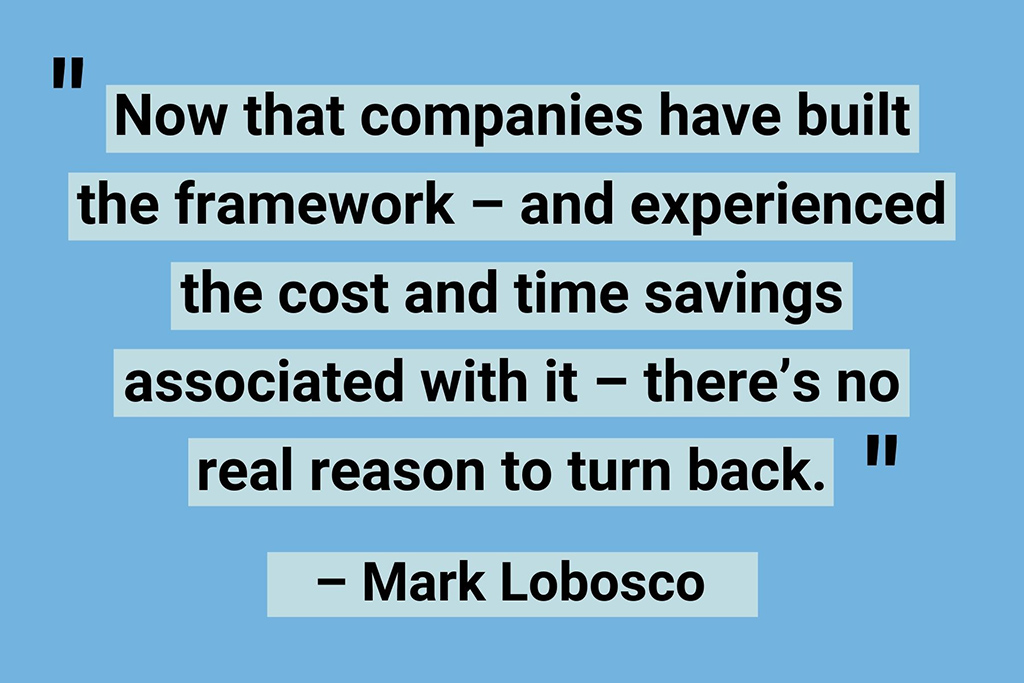 Mark Lobosco remote work quotes
