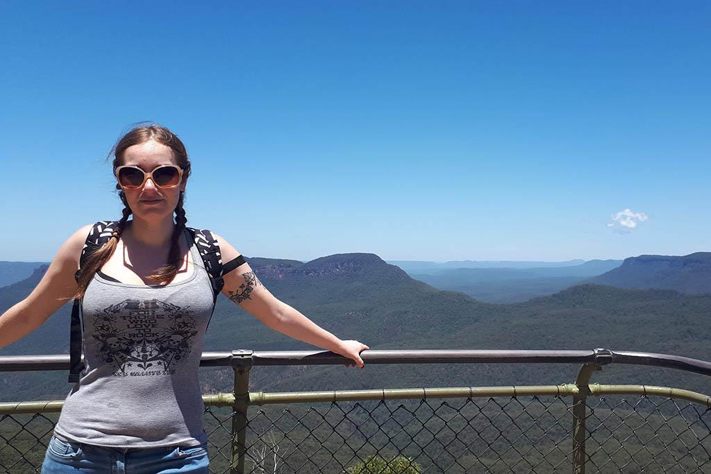 Miriam Blue Mountains near Sydney