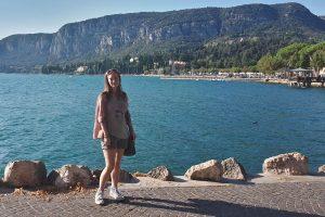 Miriam at Lake Garda Italy