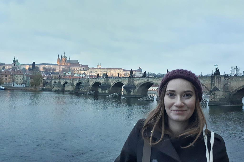 Miriam in Prague