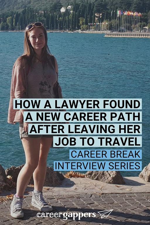 Miriam travel career break interview