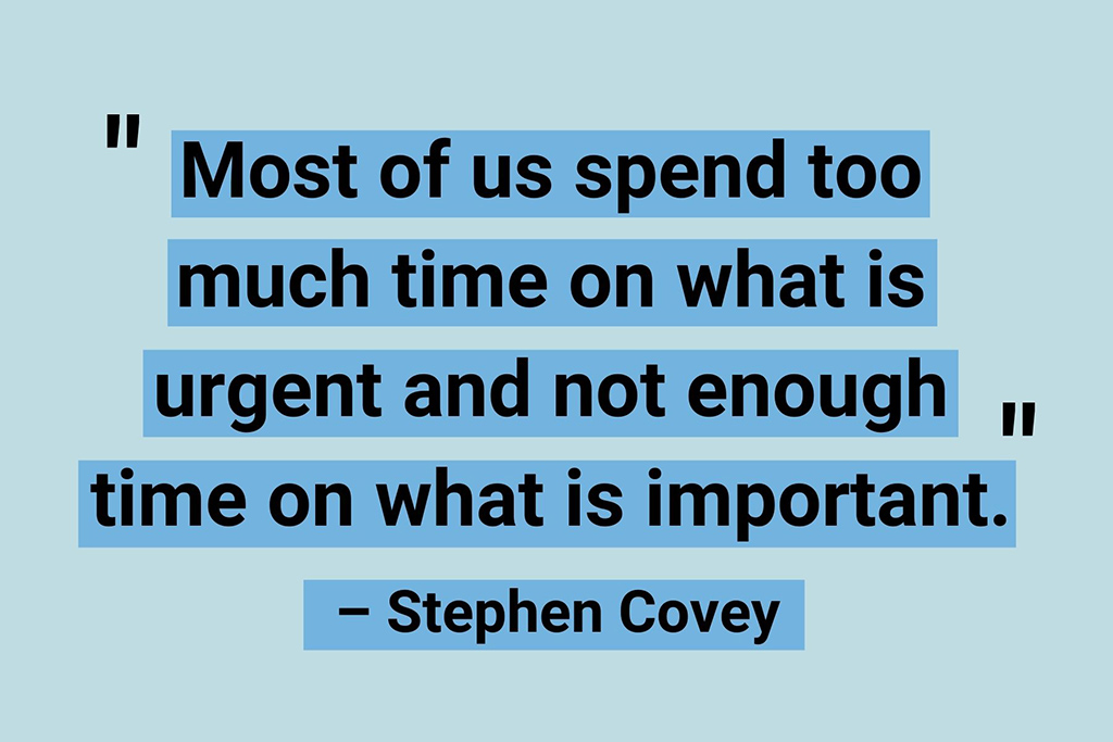 Stephen Covey productivity quotes