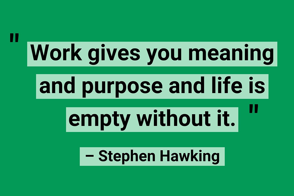 Stephen Hawking work life quotes