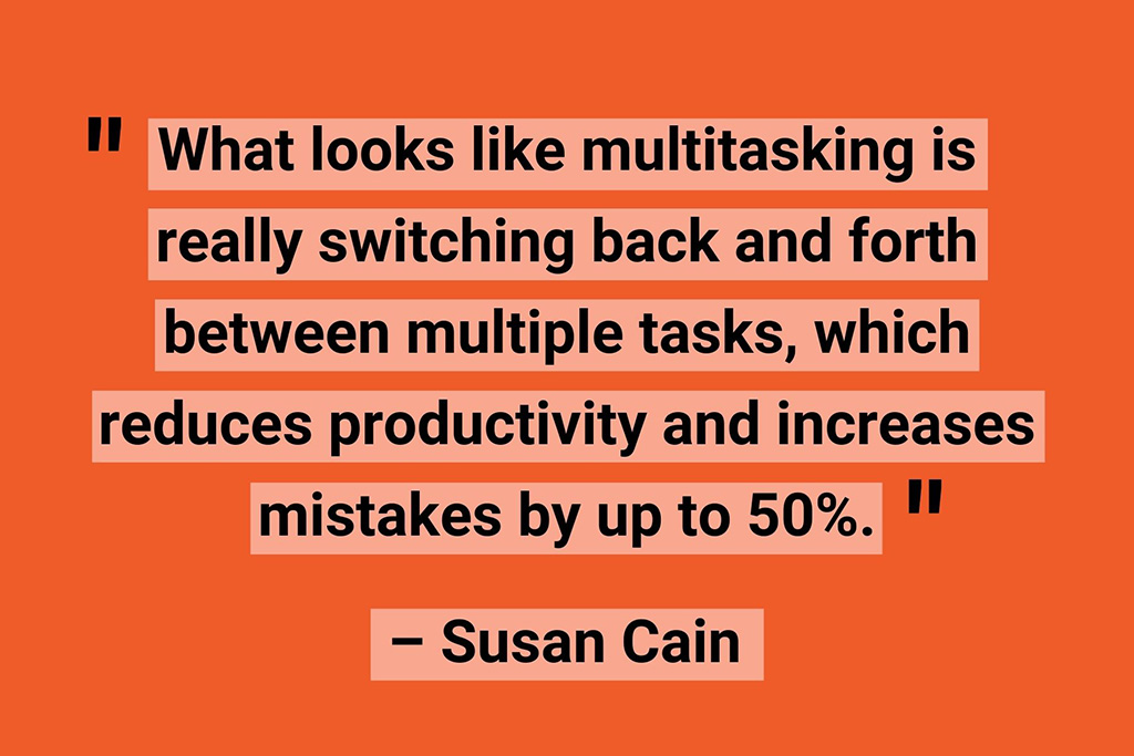 Susan Cain work from home quotes