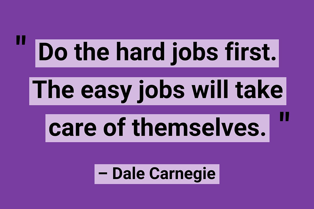 Work from home quotes Dale Carnegie