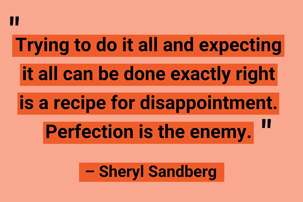 Work from home quotes Sheryl Sandberg