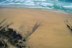Gwithian Towans beach from above