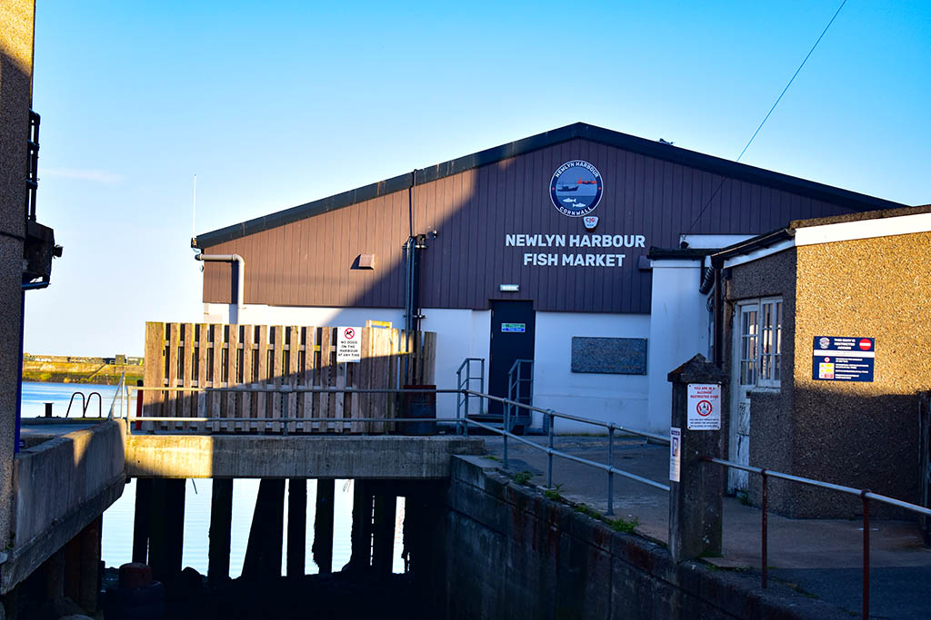 Newlyn Harbour Fish Market