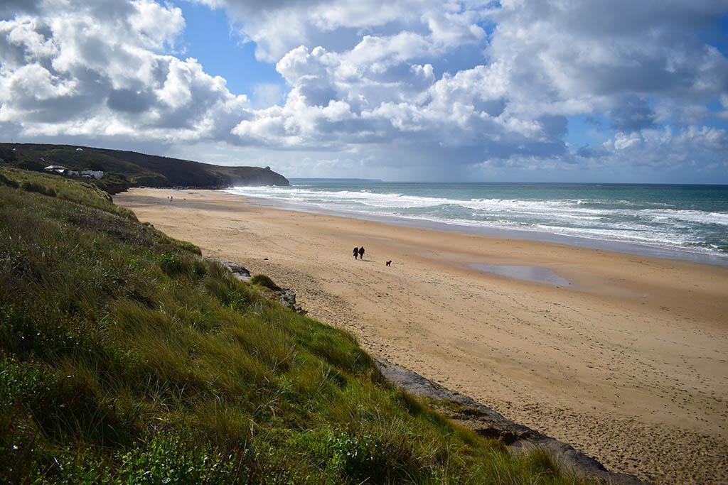 Beaches in Cornwall: Praa Sands