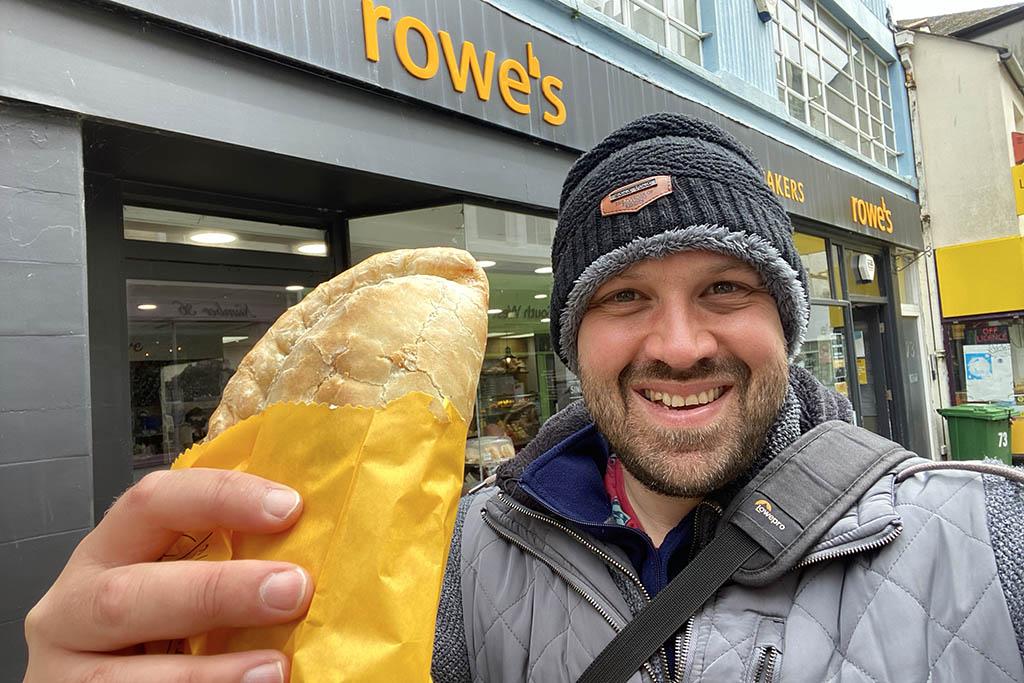 Rowes Cornish pasty Alex