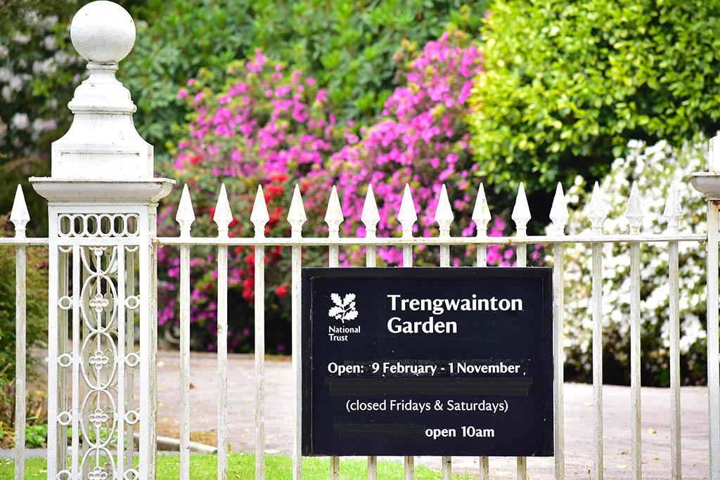 Trengwainton Gardens entrance