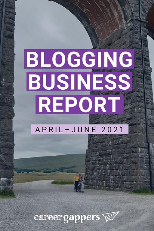 Blogging business report Q2 2021