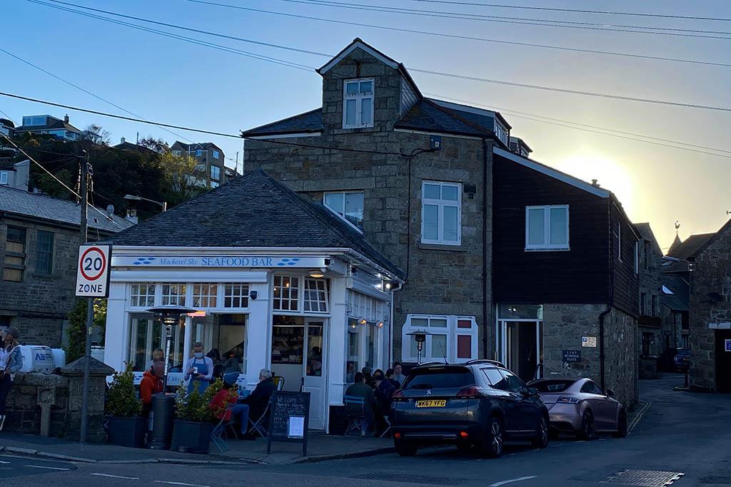 Penzance restaurants: Mackerel Sky Seafood Bar