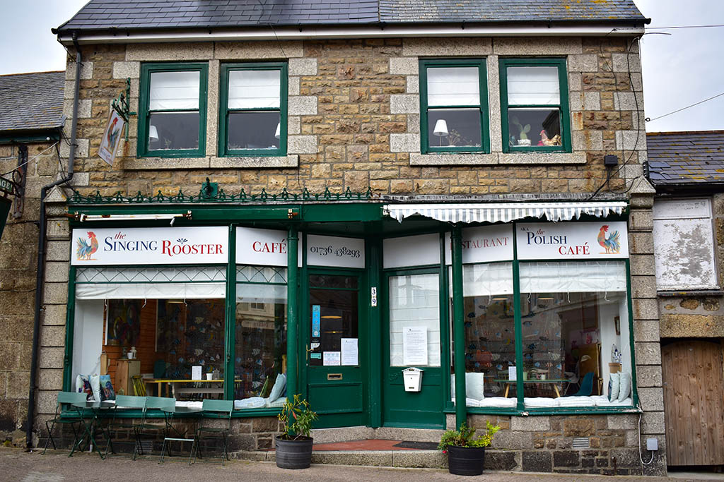 Penzance restaurants: The Singing Rooster
