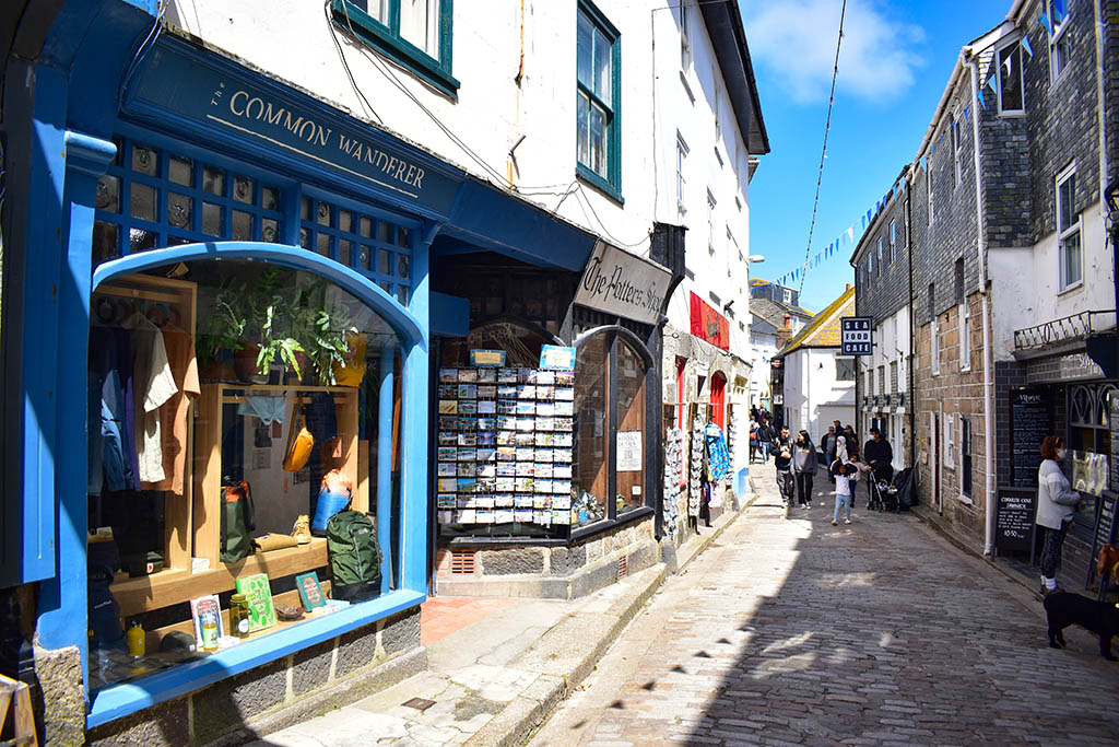 Fore Street shops St Ives