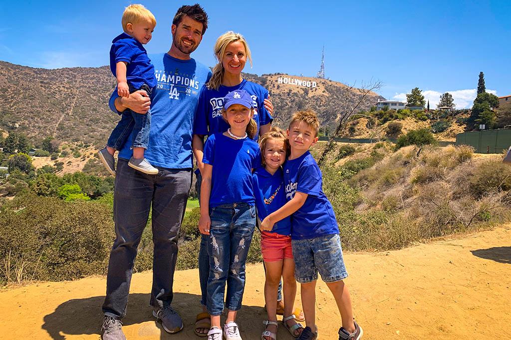 JJ family Hollywood road trip sabbatical