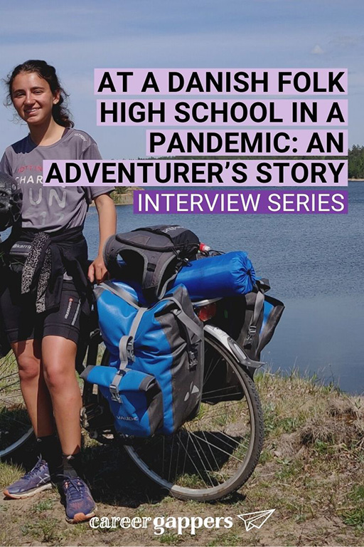 In this interview, adventurer Nellie Khossousi tells of her experience at a Danish folk high school as the world went into lockdown. #careerbreak #sabbatical #travelcareerbreak