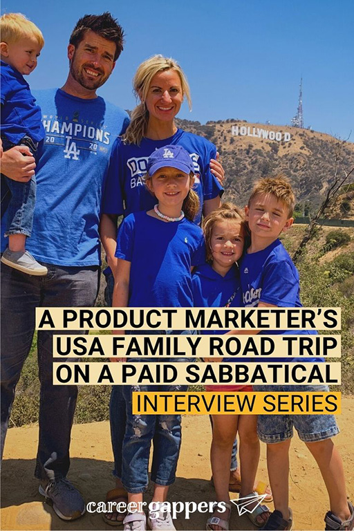 JJ works for a big tech company that offers paid sabbaticals. He took the opportunity for a four-week family road trip in the USA. #sabbatical #paidsabbatical #familytravel #careerbreak