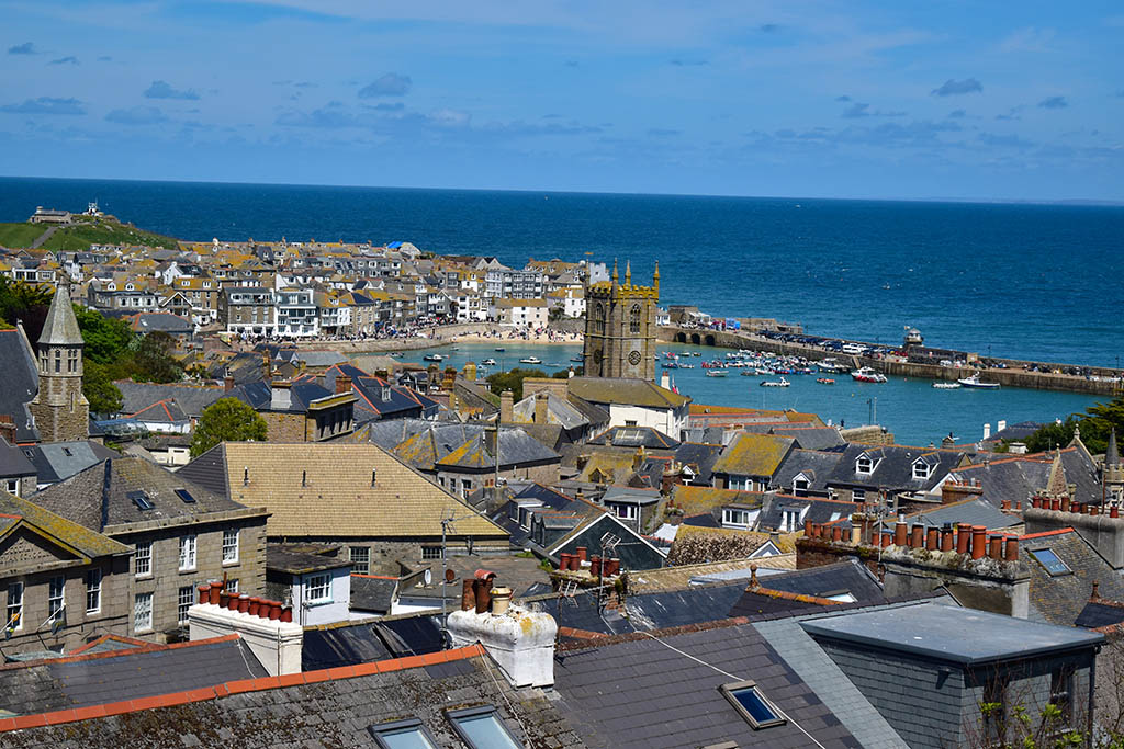 Things to do in St Ives: walk uphill