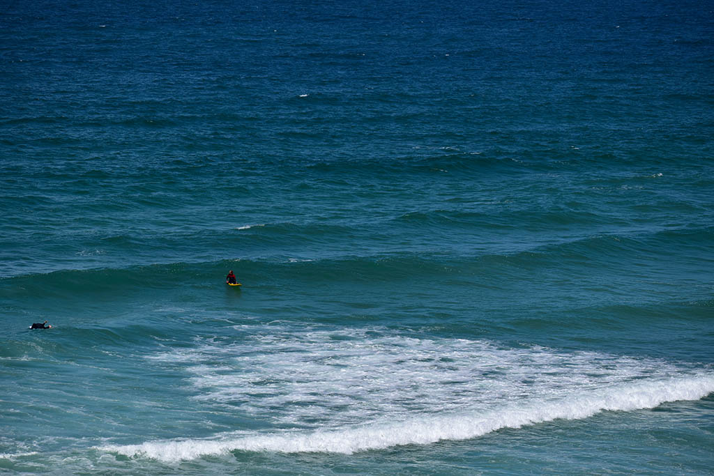 St Ives surfing