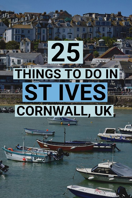 We pick the very best things to do in St Ives, Cornwall, including art galleries, shopping, food, walks, beaches and more. #stives #stivescornwall
