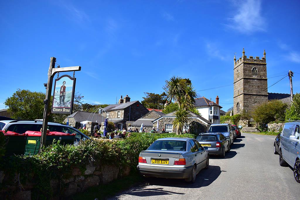 Zennor village Cornwall