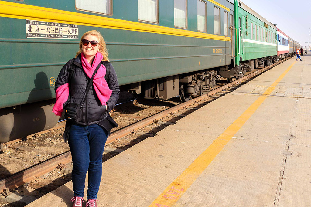 Laura Bannister on the Trans-Mongolian Railway