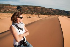 Liz Galloway sabbatical sand dunes