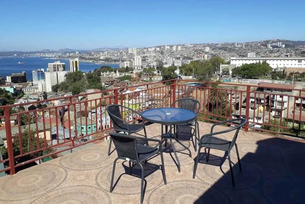 Balcony view apartment